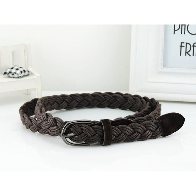 Women's Belt - Braided Rope Design-99Accessory-99Accessory
