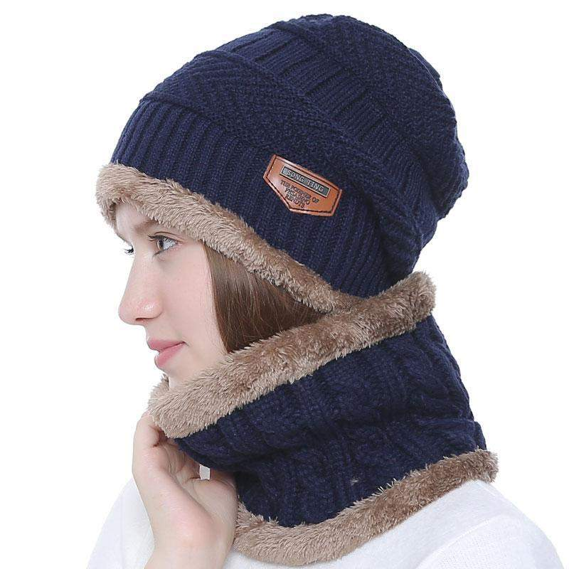 Neck warmer winter cap For men, Skullies-99Accessory-99Accessory