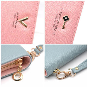 Luxury Long Zipper Ladies Wallet-99Accessory-99Accessory