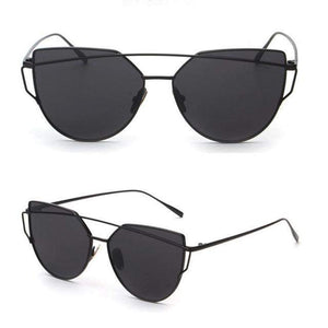 Twin-Beams Mirror Sunglasses for Women-99Accessory-99Accessory