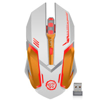Rechargeable Wireless Gaming Mouse, 7color Backlight-99Accessory-99Accessory