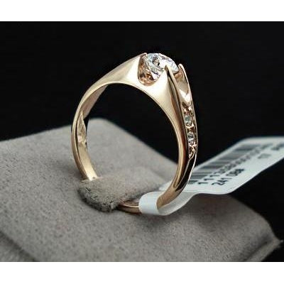 Rose Gold Color Zirconia Ring-99Accessory-99Accessory