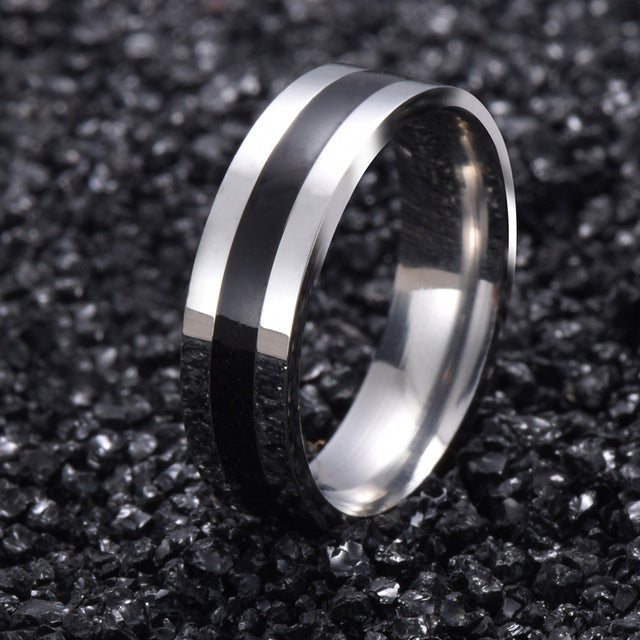Vintage stainless steel Men's Ring-99Accessory-99Accessory