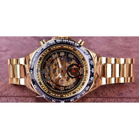 Men's Bezel Skeleton Watch-99Accessory-99Accessory