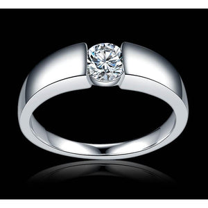 Zirconia silver Ring for ladies-99Accessory-99Accessory