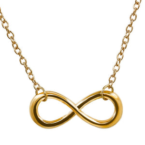 Infinity / Luck / Cross / Leaf Pendant Necklaces