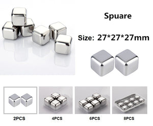 Stainless Steel Cooling Cubes