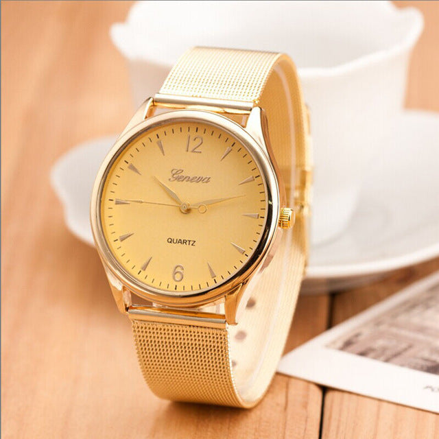 Women's Classical Stainless Steel Watch