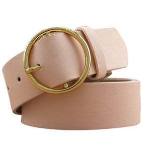 Gold Buckle Female Belt