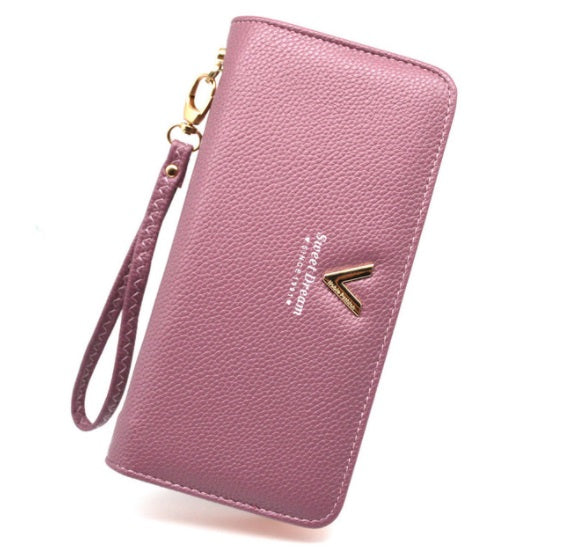 Luxury Long Zipper Ladies Wallet