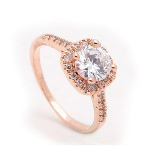 Silver Plated zircon Ring For Women-99Accessory-99Accessory