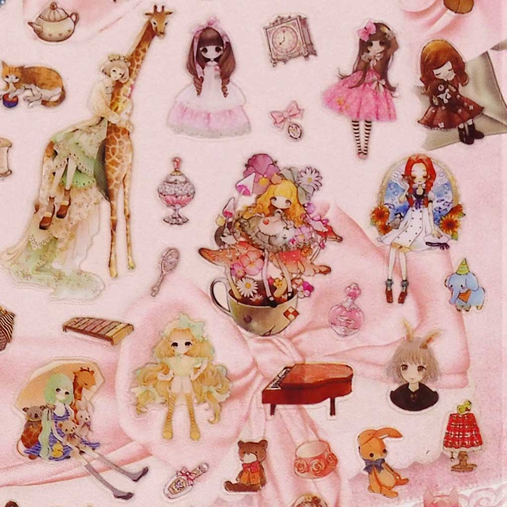Doll Stickers
