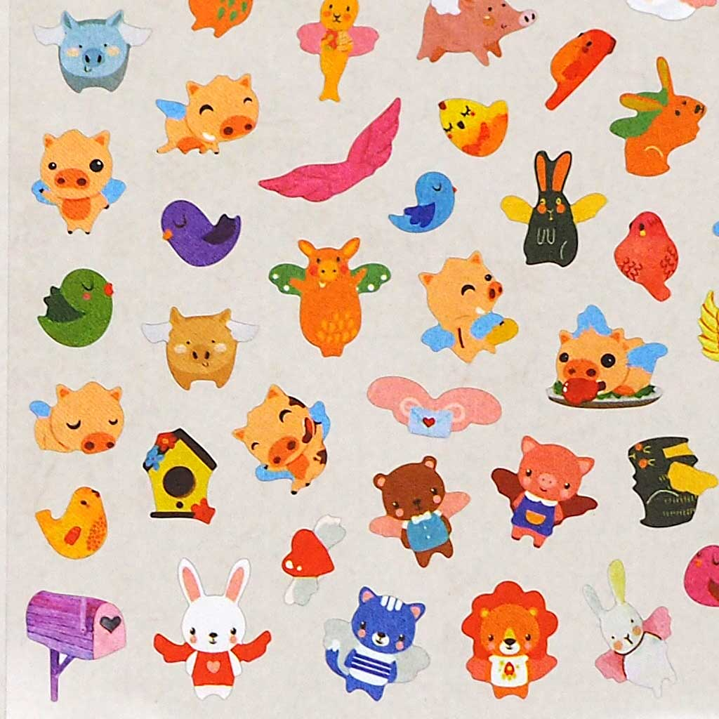 Flying Pig Stickers