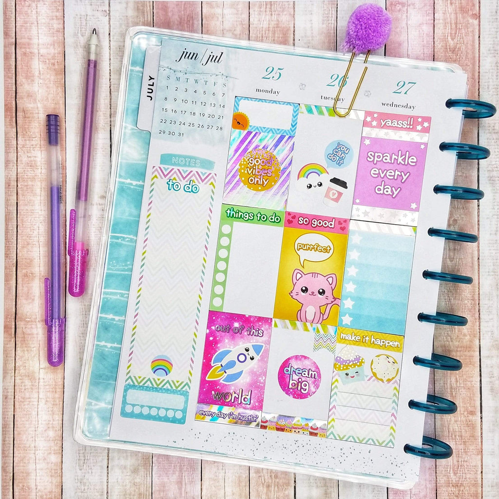 Kawaii Stickers for Planners