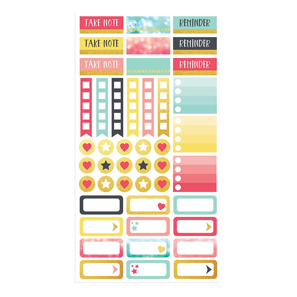 Family Schedule Planner Stickers Sheet 4
