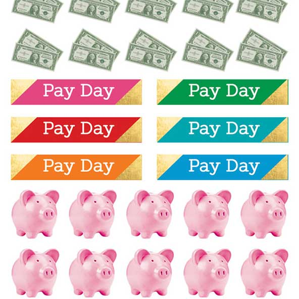 Pay Day Budget Stickers