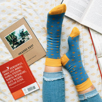Socks that Give Books