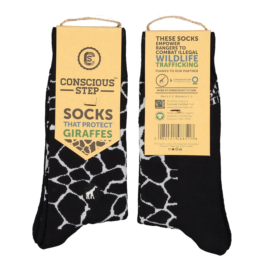 Socks that Protect Giraffes