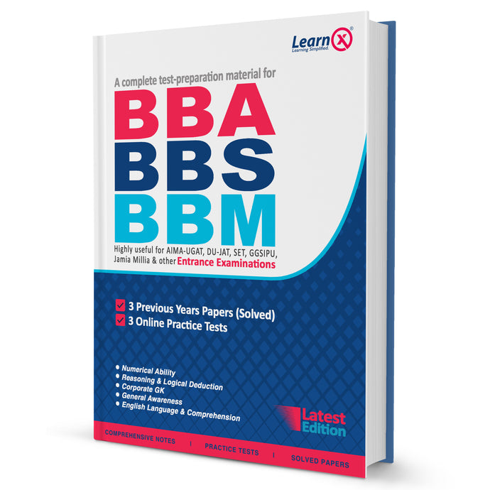 BBA/BBS/BBM Entrance Exam Guide 2021