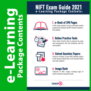 NIFT Exam Guide 2021 [e-Learning Package]