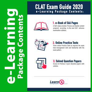 CLAT Exam Guide 2020 [e-Learning Package]