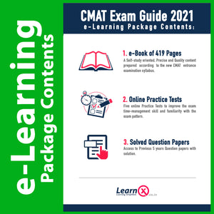CMAT Exam Guide 2021 [e-Learning Package]