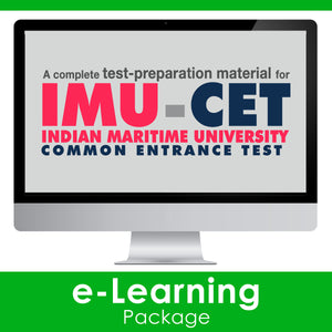 IMU-CET Exam Guide 2020 [e-Learning Package]