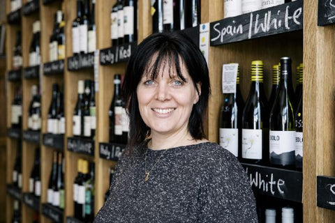 Wine merchant Louise Oliver