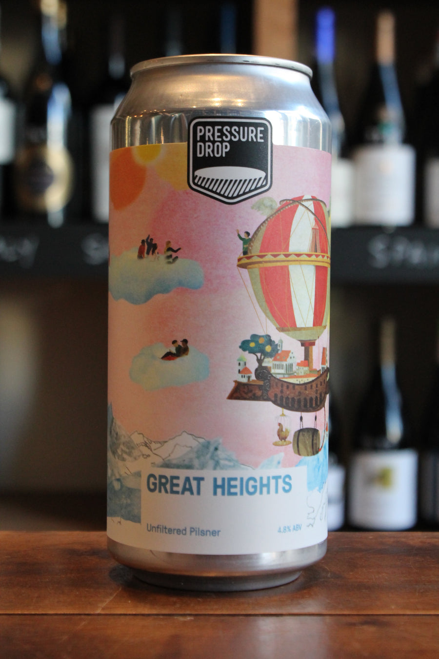 Pressure Drop - Great Heights -Pilsner