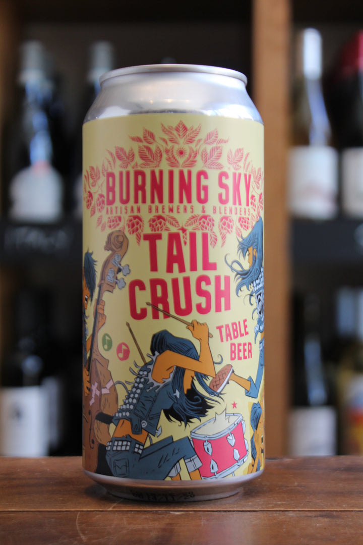 Burning Sky - Tail Crush - Table Beer-Beer-Seven Cellars