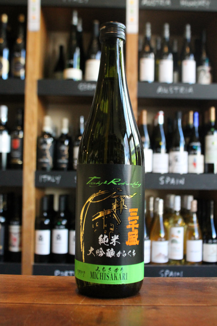 Michisakari - Morning Dew - Junmai-Sake-Seven Cellars