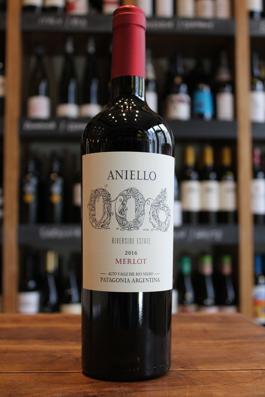Aniello 006 Merlot-Red Wine-Seven Cellars
