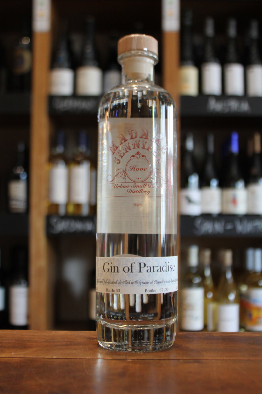 Madame Jennifer - Gin of Paradise Sussex Dry Gin