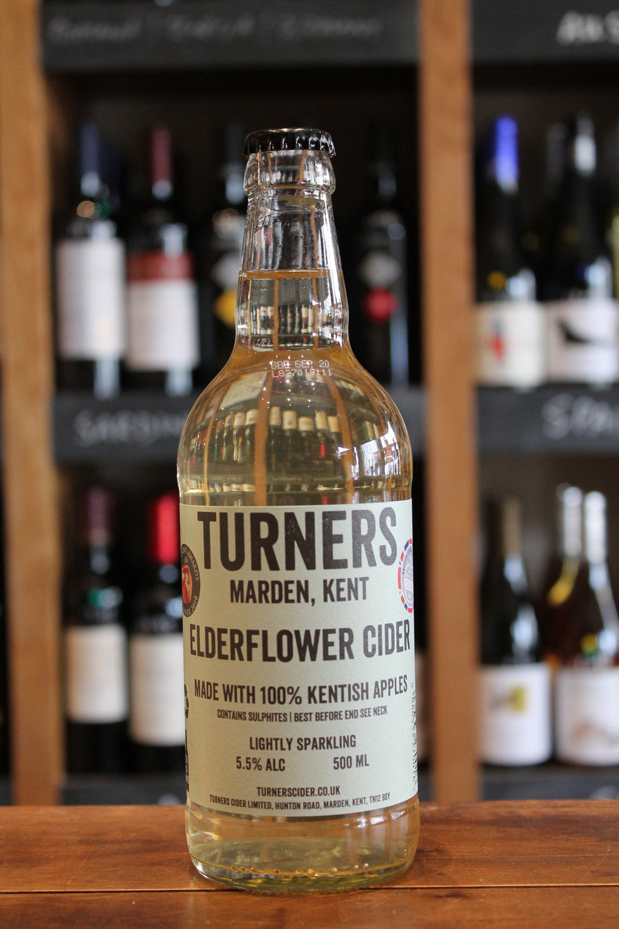 Turners - Elderflower Cider-Cider-Seven Cellars