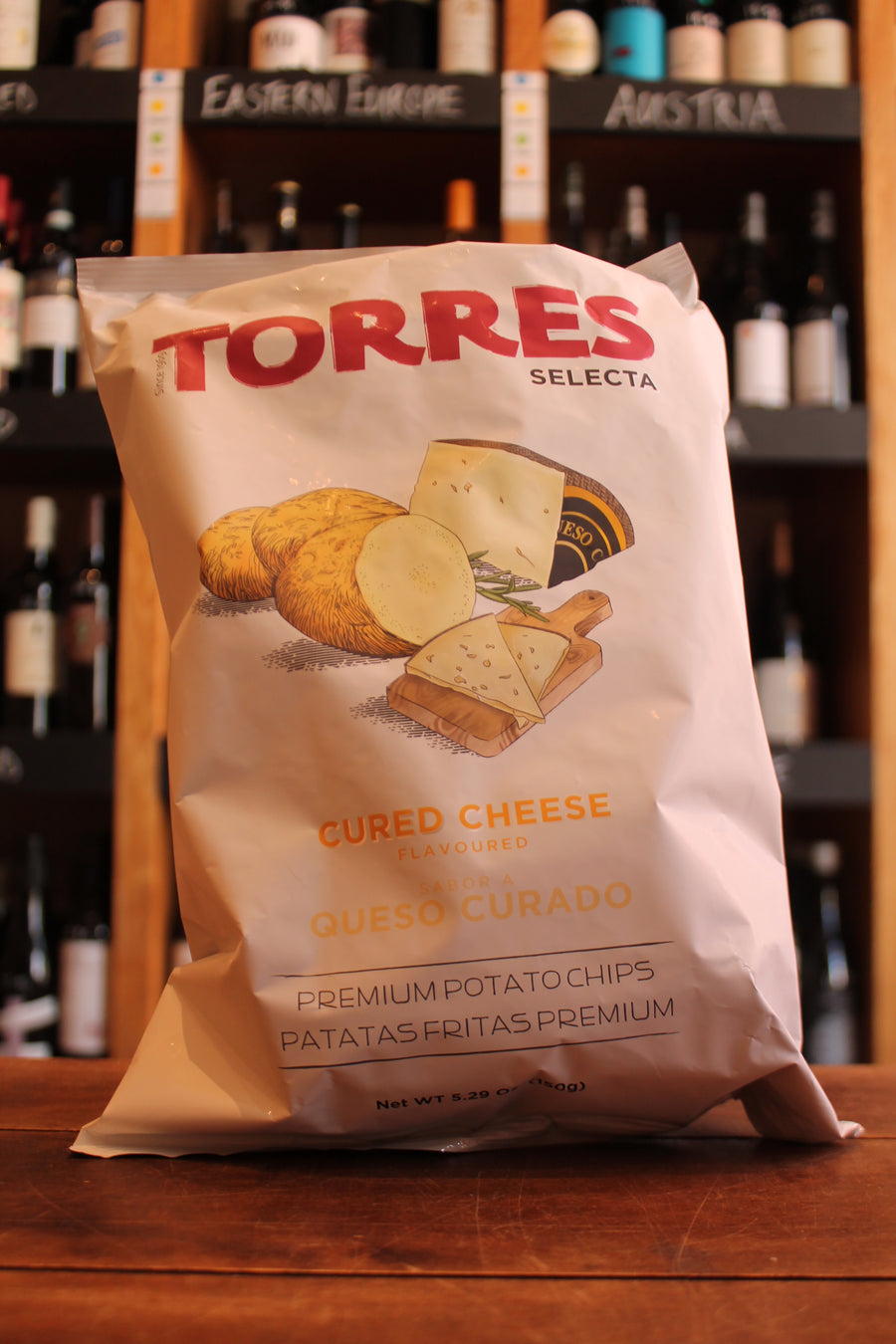 Torres - Cured Cheese - BIG