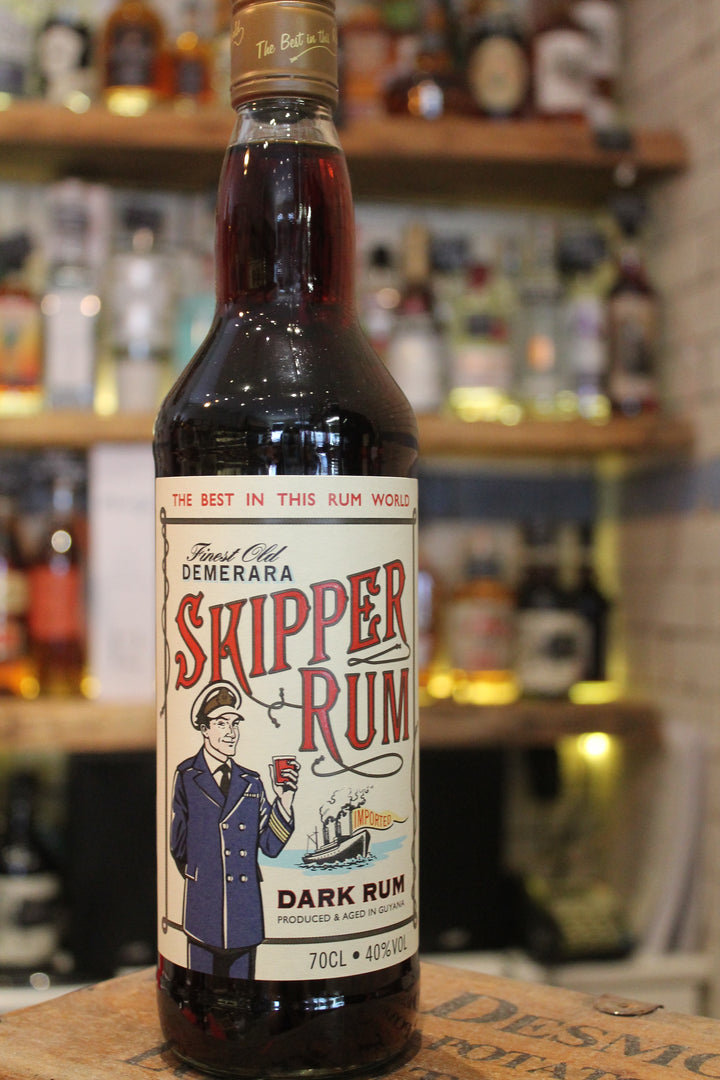 Skipper - Demerara Dark Rum-Spirits-Seven Cellars