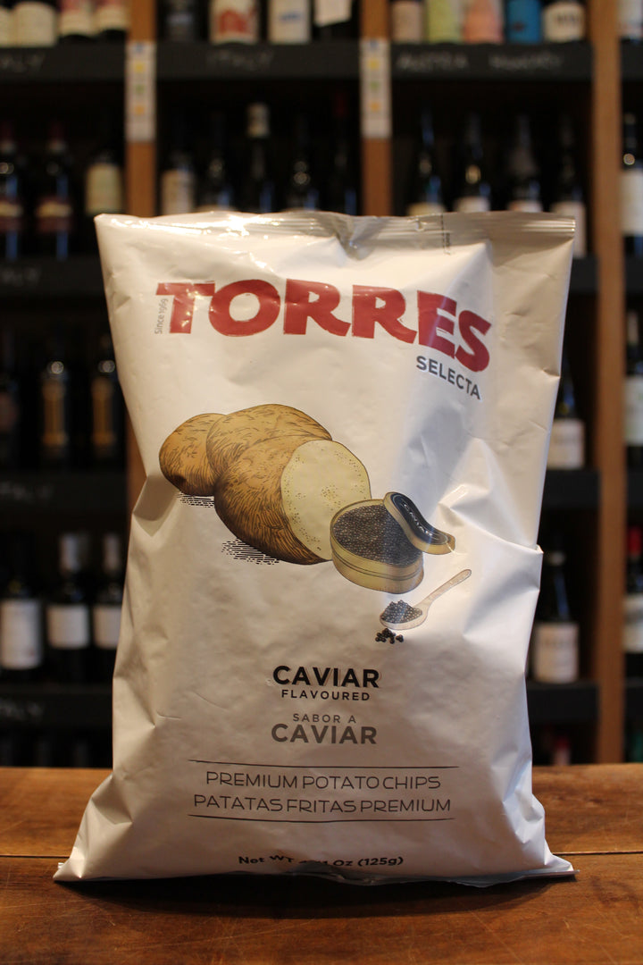 Torres Crisps with Caviar-Snacks-Seven Cellars