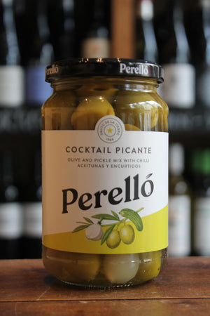 Perello - Cocktail Mix - with Manzanilla Olives