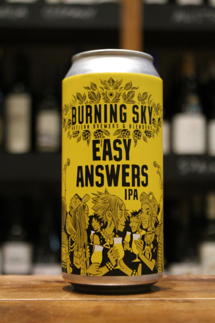 Burning Sky - Easy Answers IPA - Vegan-Beer-Seven Cellars