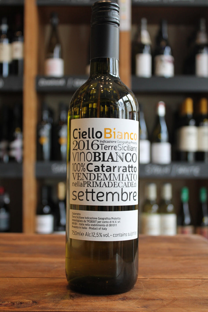 Ciello Bianco - Cataratto-White Wine-Seven Cellars