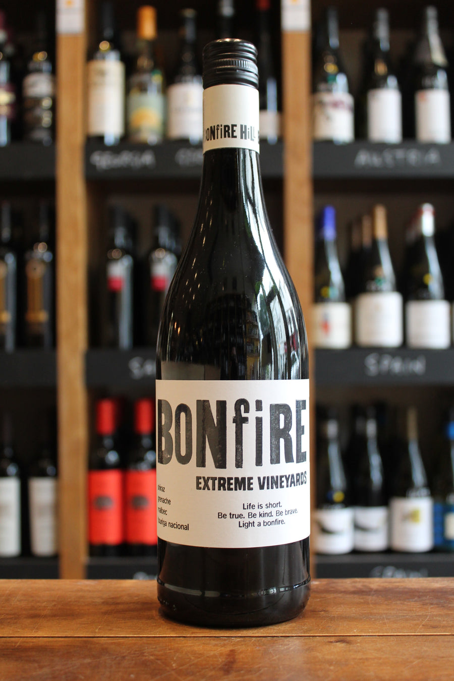 Bonfire Hill Extreme Vineyards Red - Vegan Red Wine