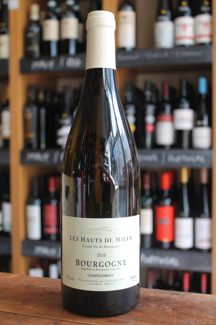 Les Hauts de Milly Bourgogne Chardonnay-White Wine-Seven Cellars