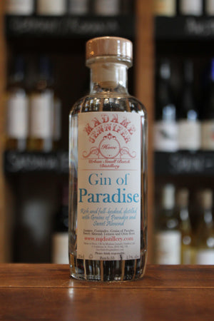 Madame Jennifer - Gin of Paradise Sussex Dry Gin 20cl