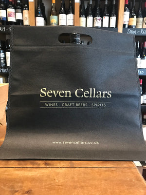 Seven Cellars Black Bag
