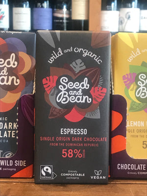 Seed & Bean Dark Chocolate with Espresso