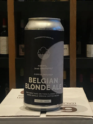 Cloudwater - Fading & Emerging - Coffee Infused Belgian Blonde