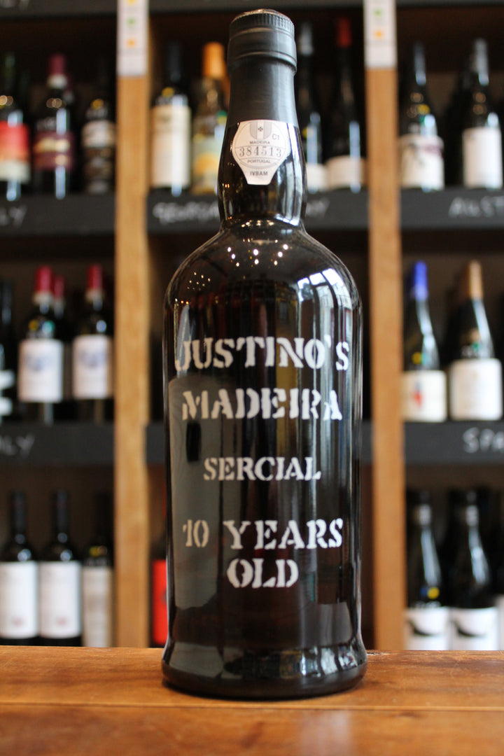 Justino's Sercial 10 Year Madeira-Fortified wine-Seven Cellars