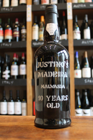 Justino's Malvasia 10 Year Old Madeira-Fortified wine-Seven Cellars