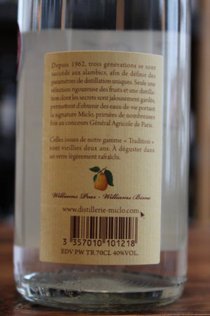 G. Miclo Poire William Eau de Vie