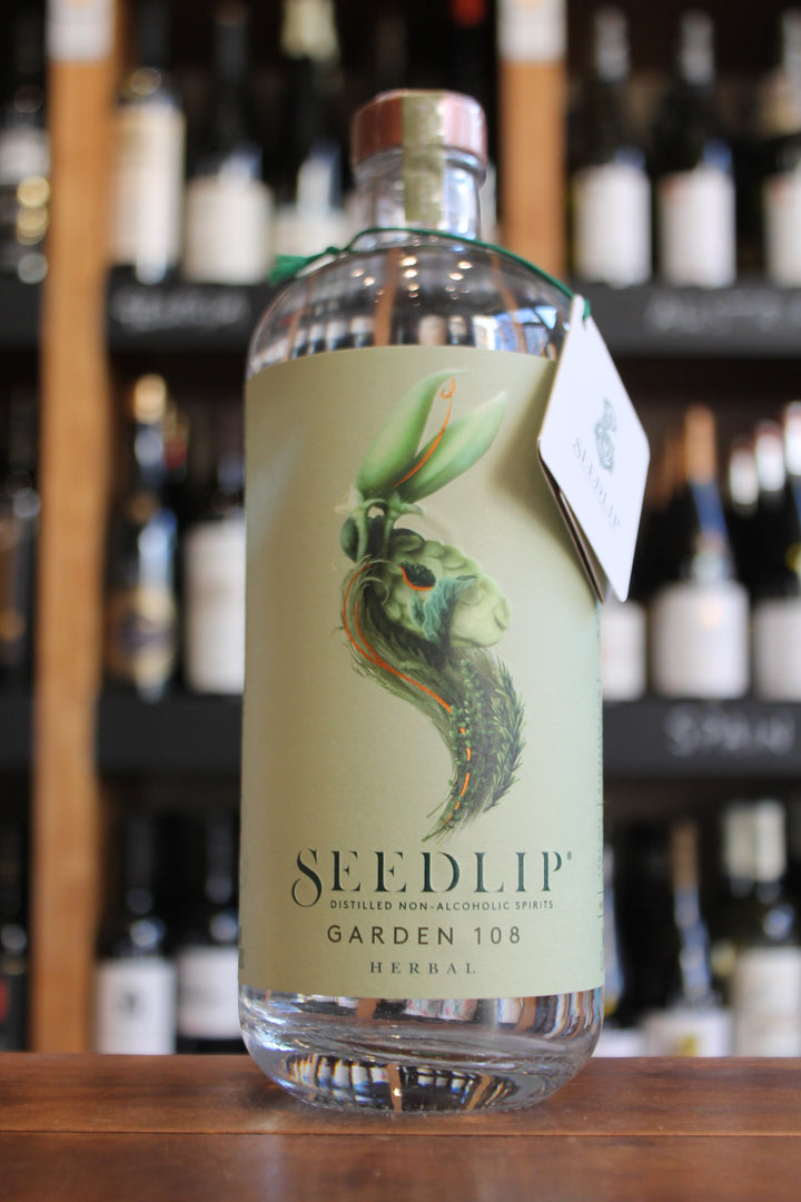 Seedlip - Garden 108 Herbal - Distilled Non Alcoholic Spirit-Non/Low Alcohol-Seven Cellars